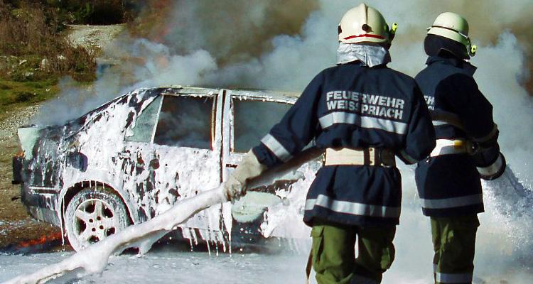 feuerwehr-autobrand